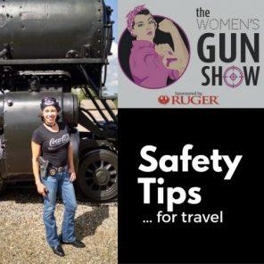 women's gun show podcast safety tips