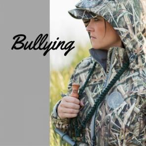 bullying hunting women