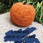 diy-cover-pic concrete jack-o-lantern