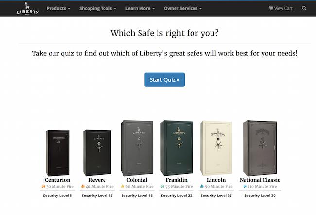 liberty safe quiz