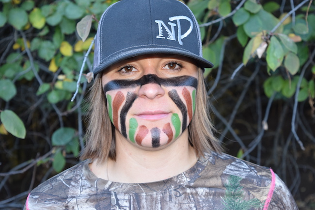 warrior face paint nature's paint