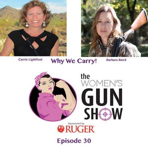 carry concealed women's gun show carry guns
