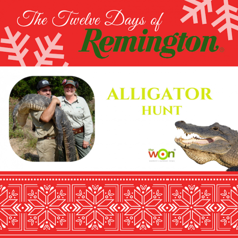 gator hunt remington