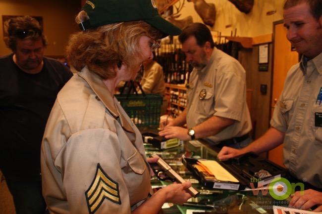 gun counter sales associate