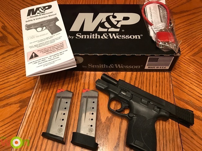 Stacy Bright Reviews the Smith & Wesson M&P 45 Shield