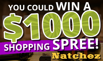 You could win a $1000 Natchez shooting supplies shopping spree!
