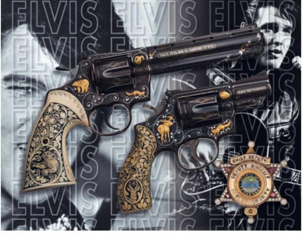 Elvis revolver