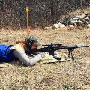 Emily Houston Monroe Ruger Precision rifle