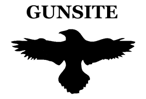 gunsite raven gun logo