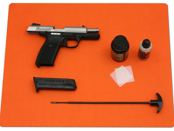 drymate blaze orange pistol pad