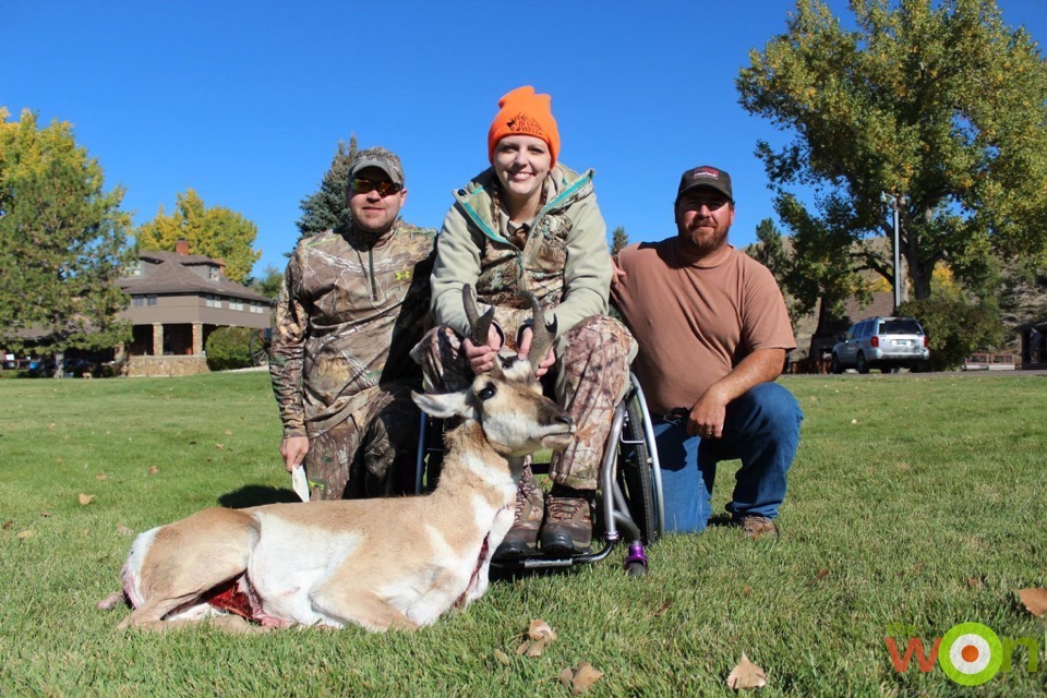Wyoming Women's Antelope Hunt