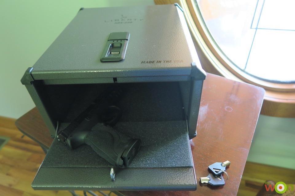 Liberty HDX-250 safe
