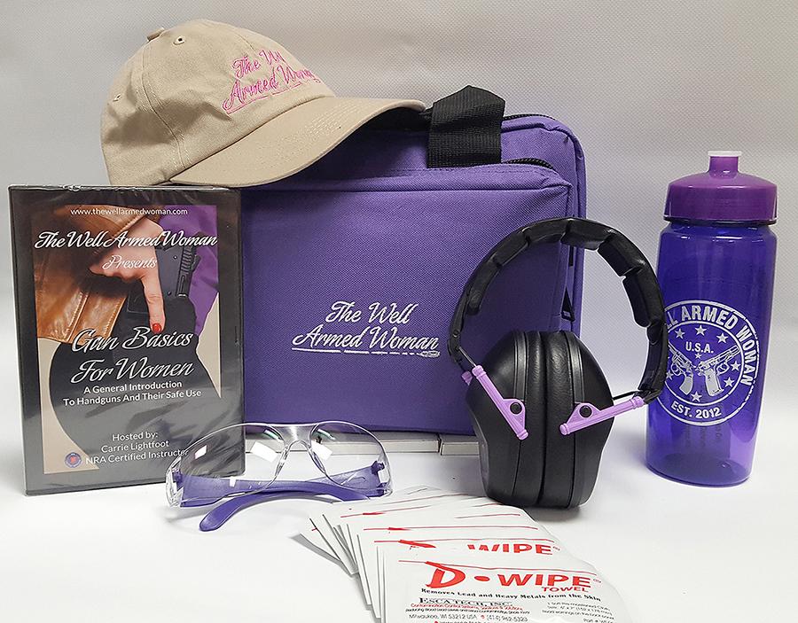 The Womens range starter kit - purple