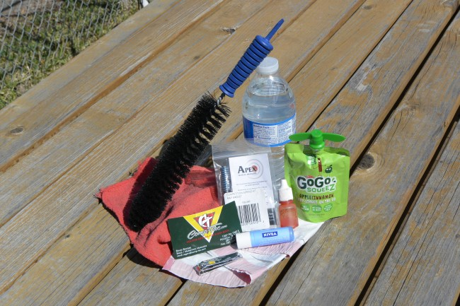 tiny items range bag
