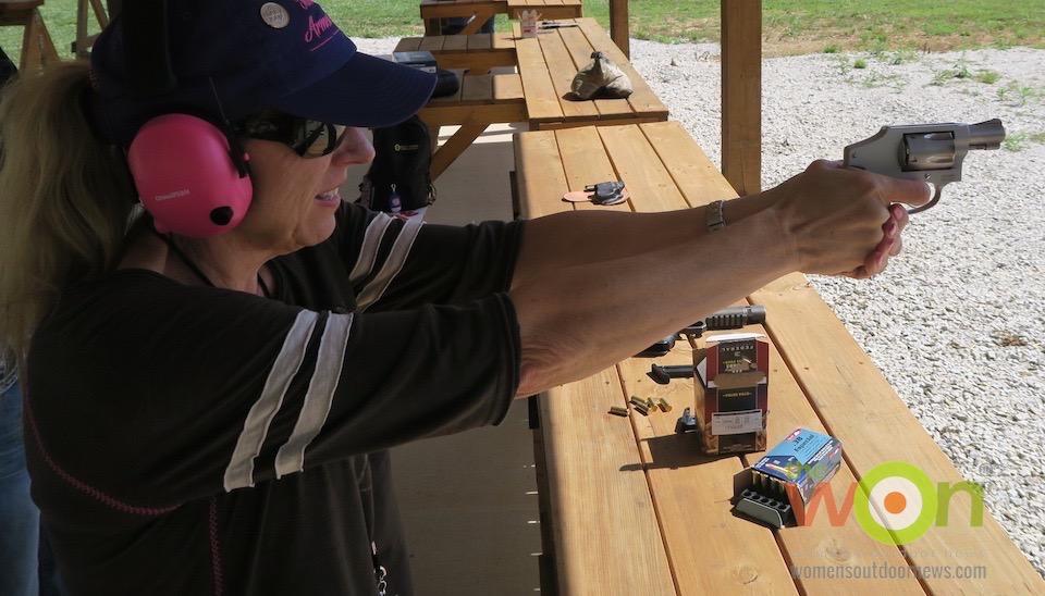 Airweight revolver