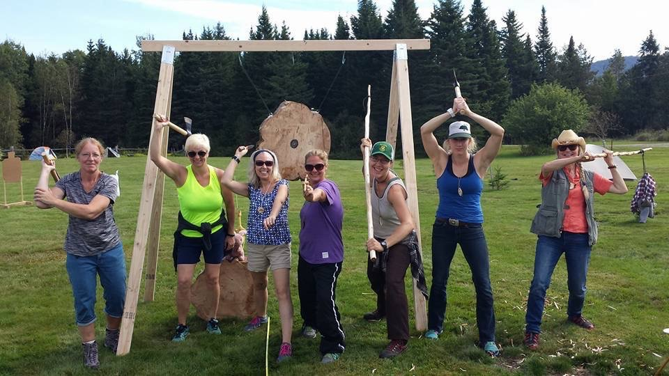 Fall Doe Camp Vermont Outdoors Women Adventurous women