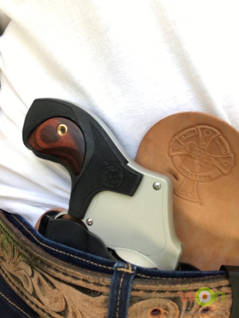 642 in IWB holster by Crossbreed