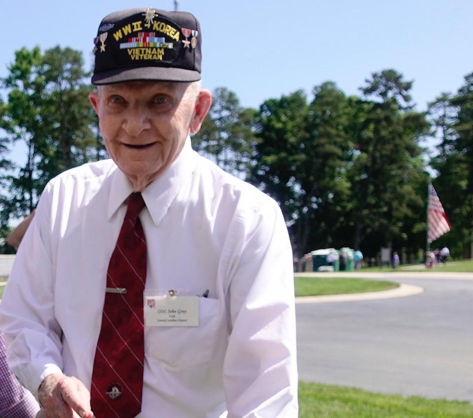 Col. John Gray WWII vet