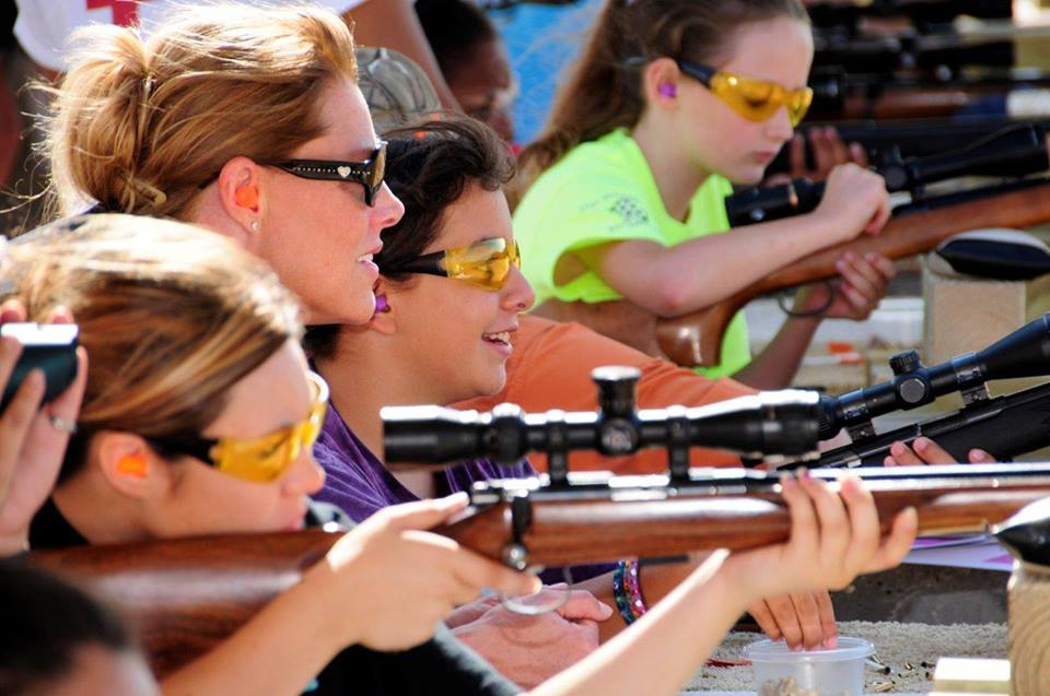 National take daughter to range day