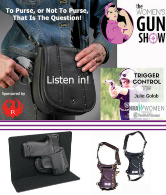 cow bag the womens gun show