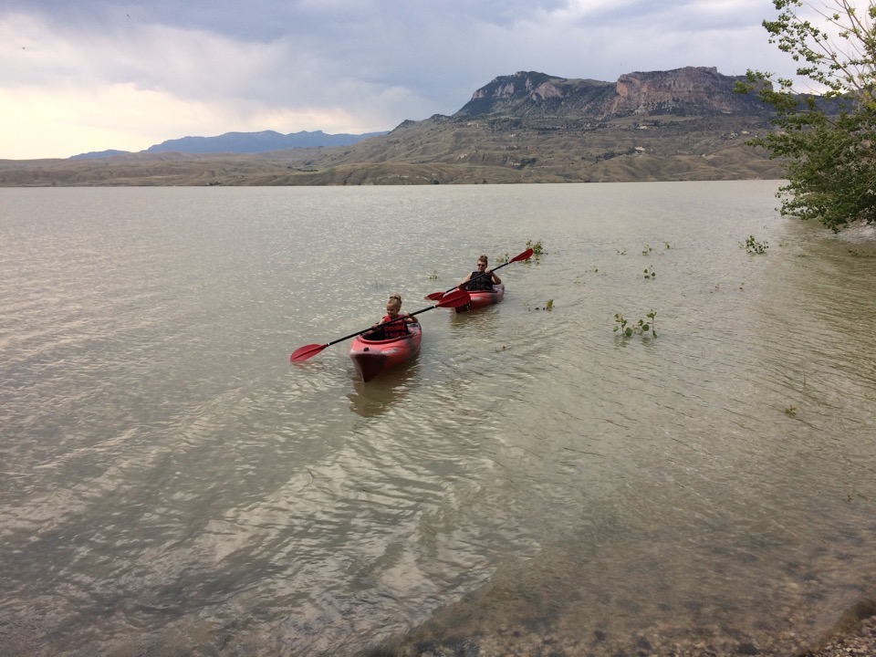 Kayak exercise