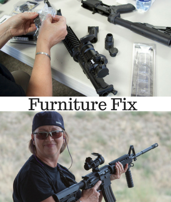 furniture on AR-15