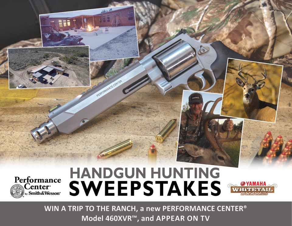 "Performance Center by Smith & Wesson Launches ""Texas Whitetail Hunt Sweepstakes"""