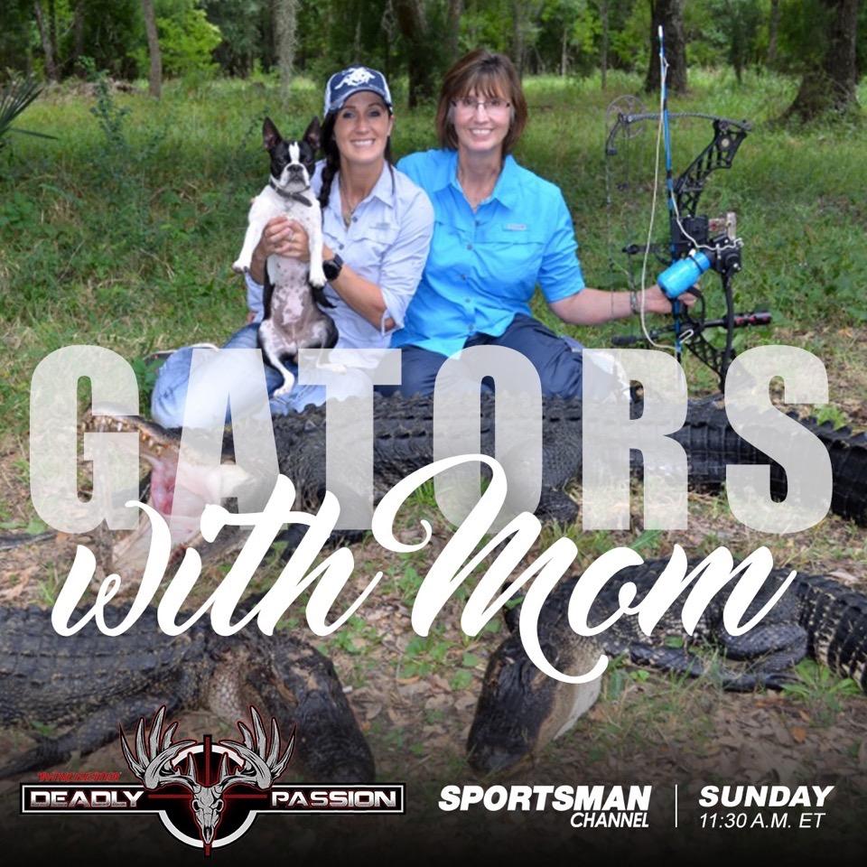 Melissa Bachman hunting gators