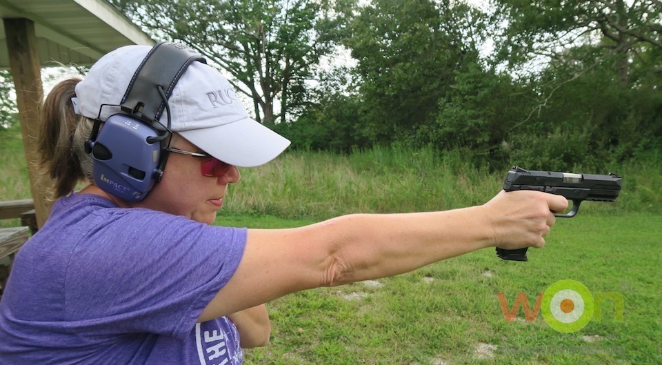 Barb on Ruger American 9mm