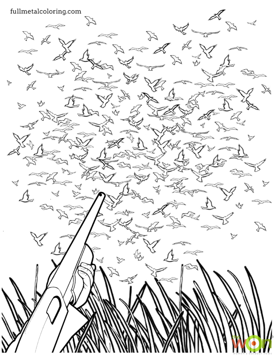 Dove season coloring page