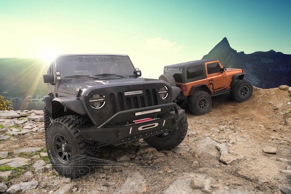 Jeep-Deegan Relaunch JL Wranglers
