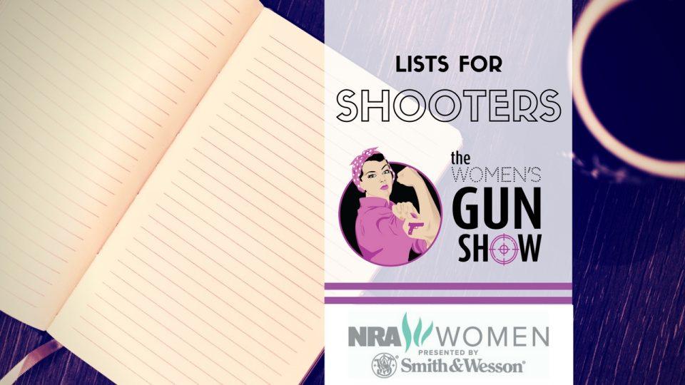 lists for shooting