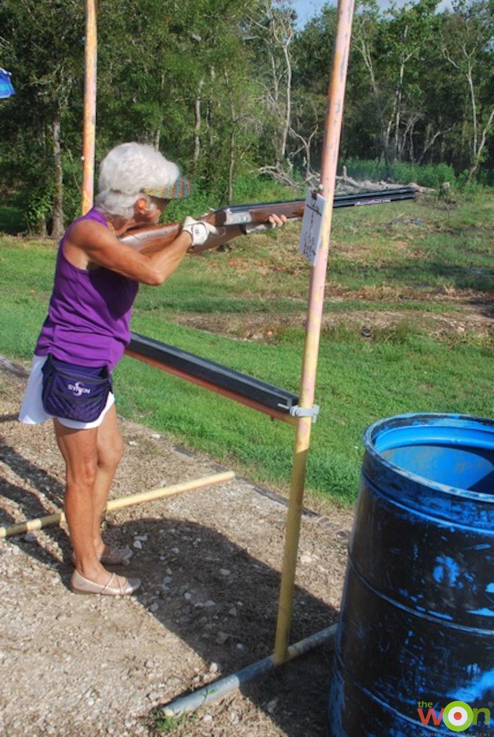BGarney shooting2 Barbara Garney