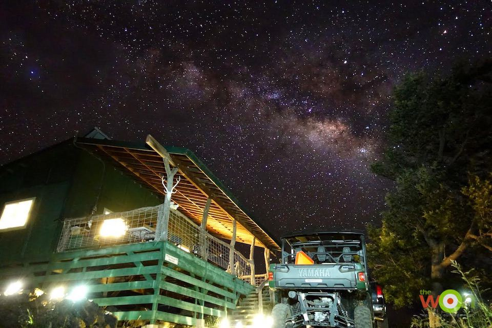 Emily Perreira 05 Starry sky at Maui Hunting Safari