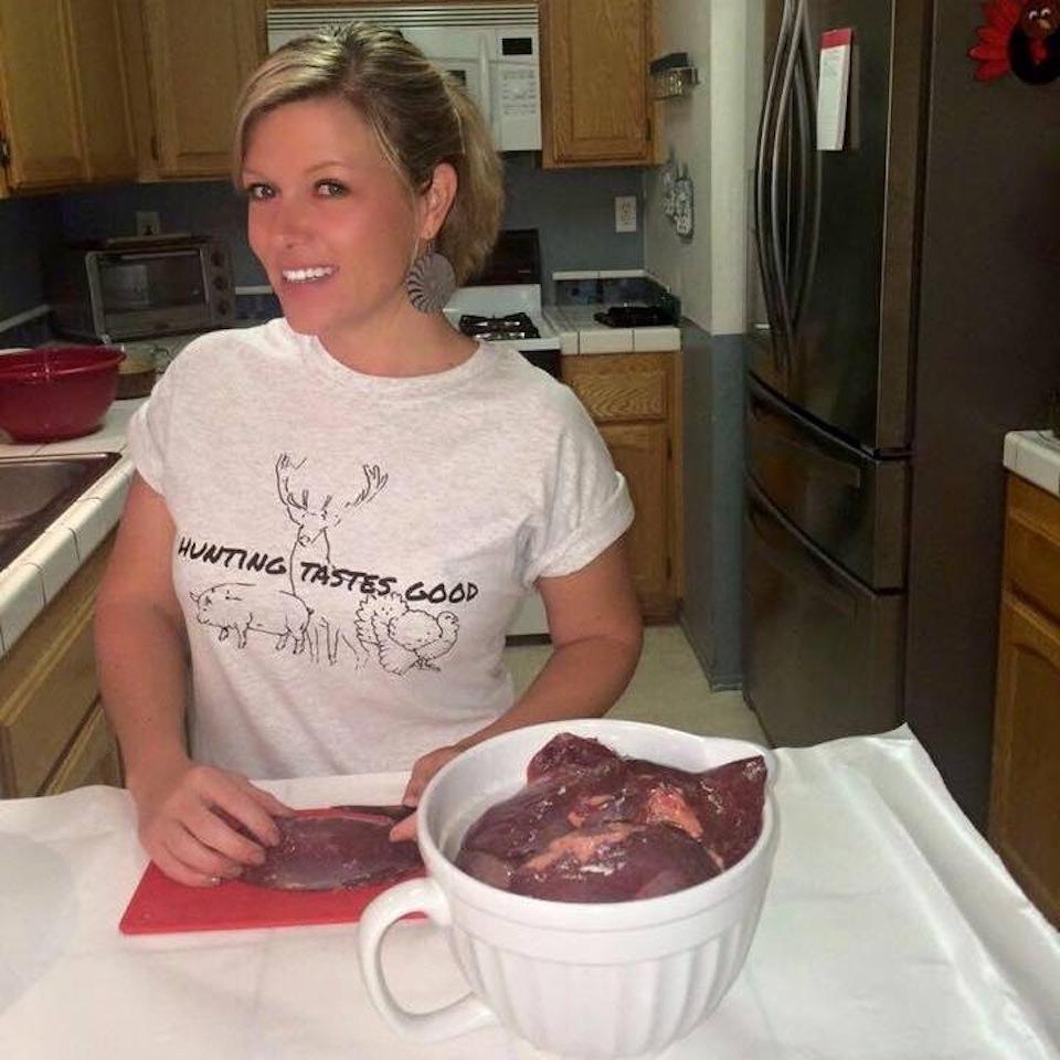 Jen Cordaro cooking