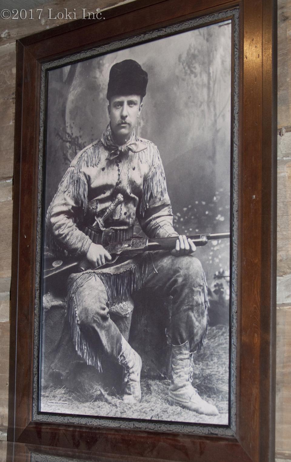 Teddy Roosevelt portrait WOW museum