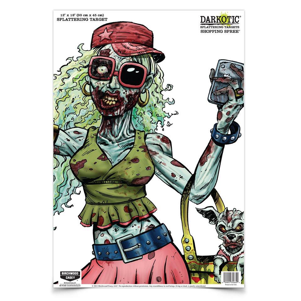 darkotoic birchwood casey zombie targets
