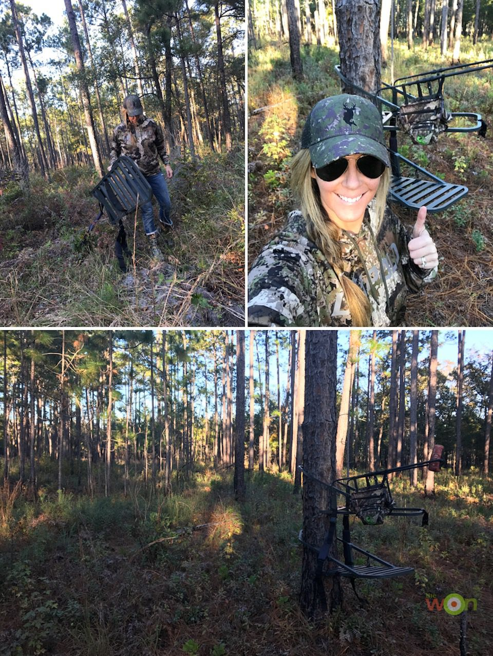 HollisLumpkin_PostRutTactics_MovingClimber Post-Rut Deer Hunting