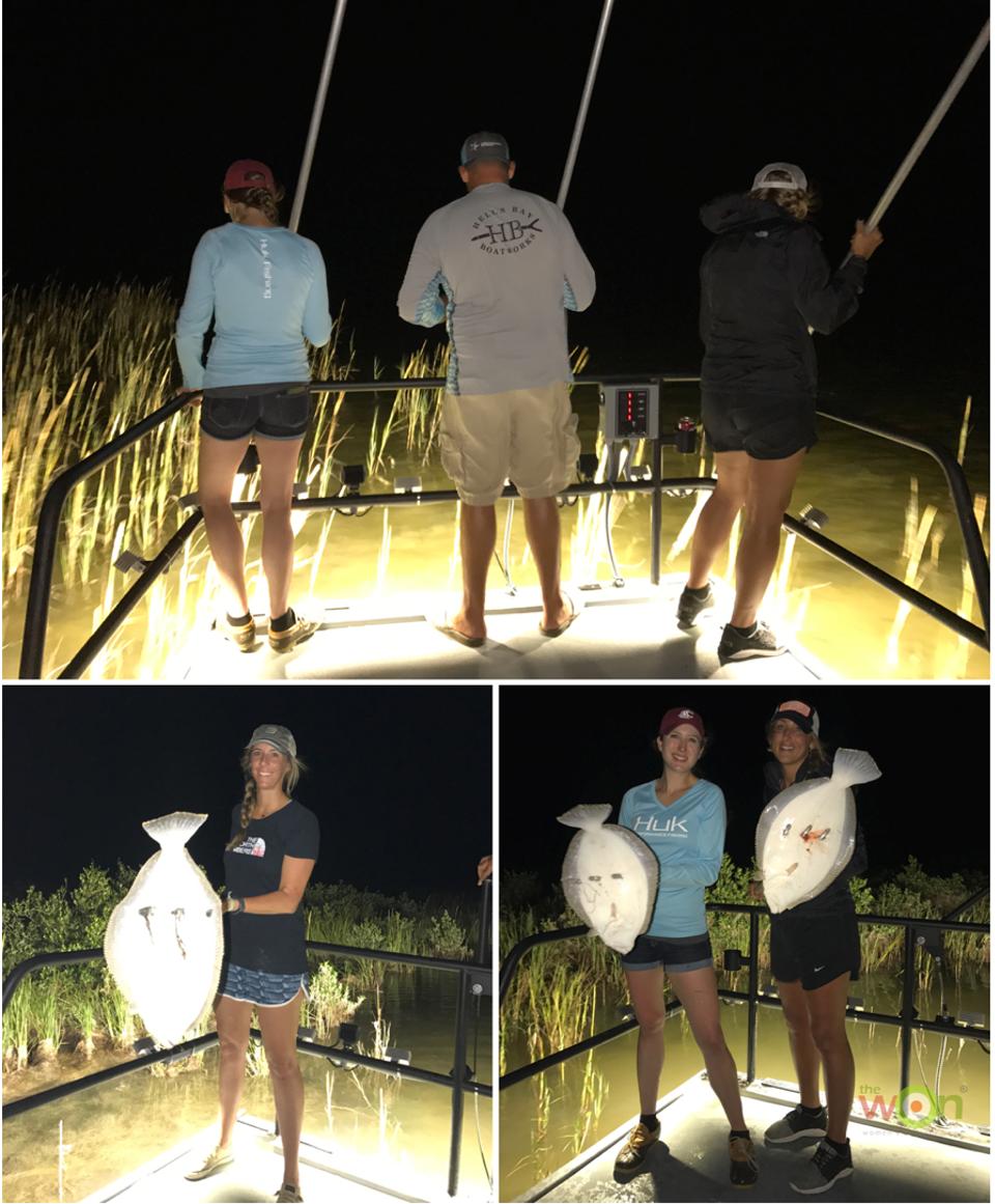 HollisLumpkin_TXPhoto_Flounder Gigging2 Texas