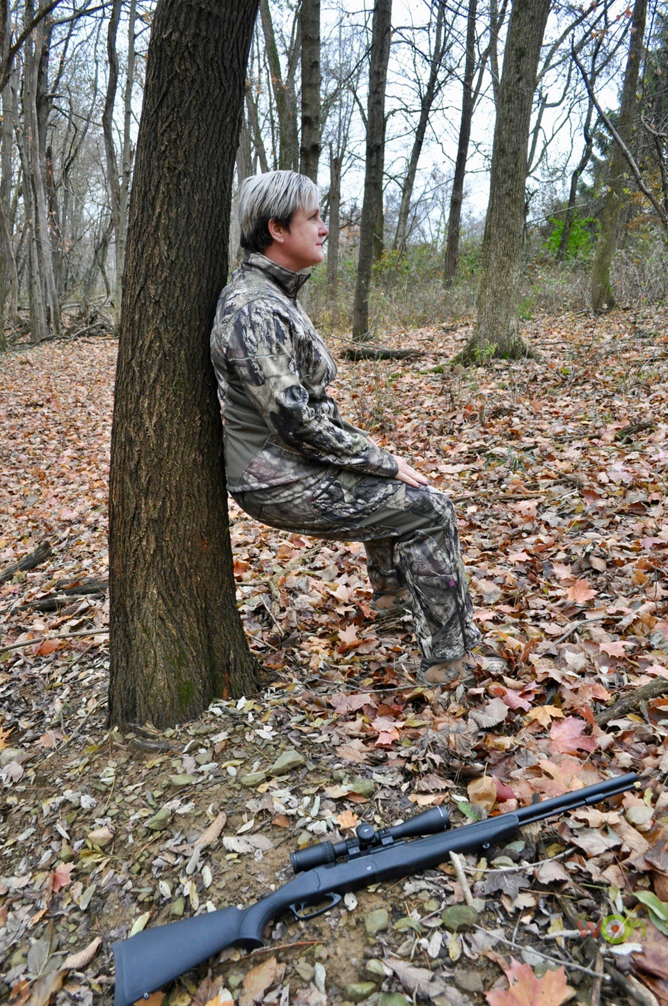 Lean-cerino Peeing in the Woods hunting