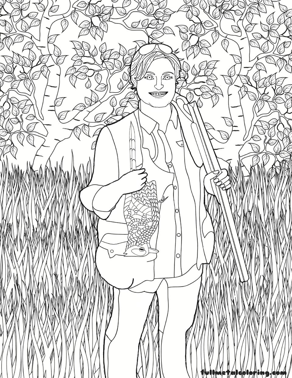 Michelle-Cerino-coloring-page Michelle Cerino