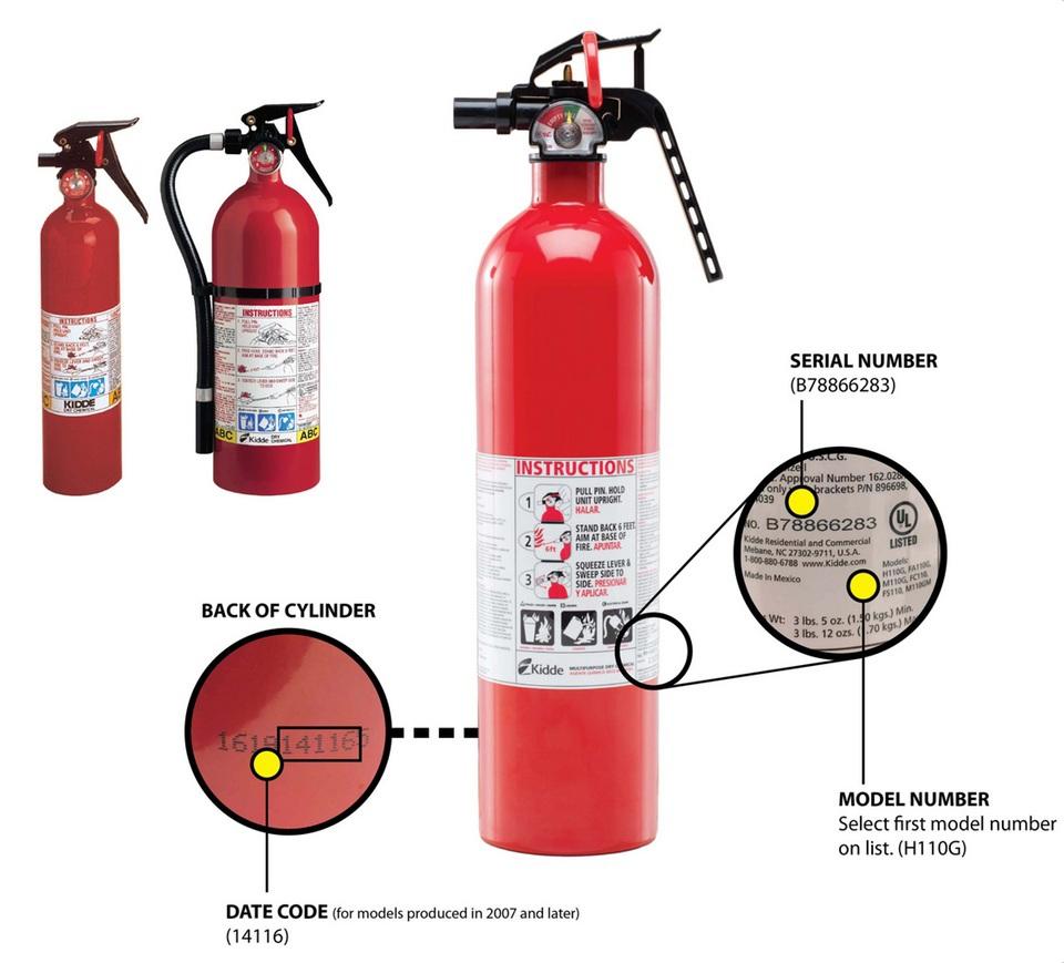 fire-extinguisher kidde