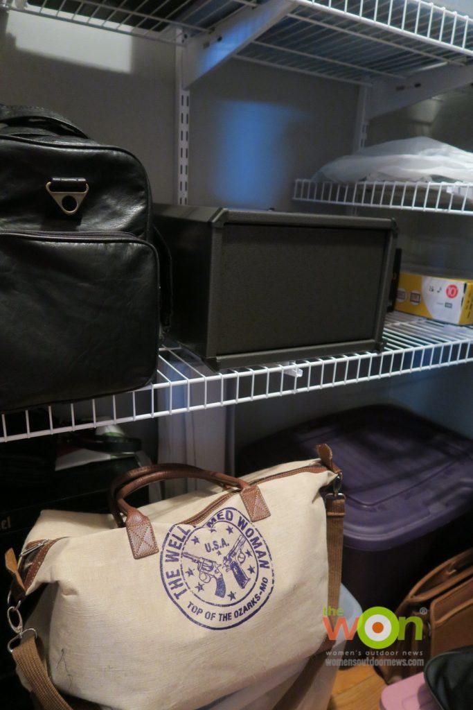 Liberty HDX-350 in closet