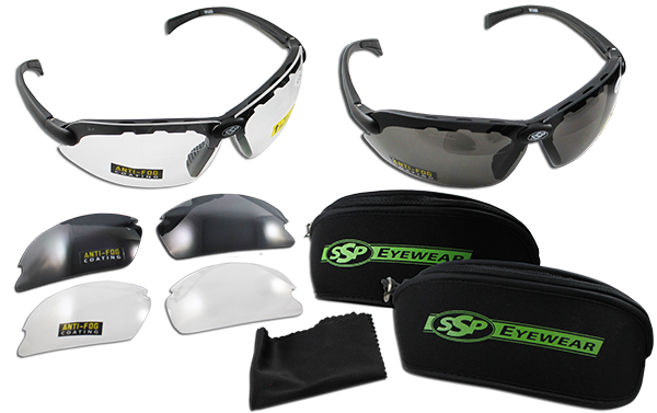top focal interchangeable shooting glasses