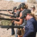women firearms training gunsite
