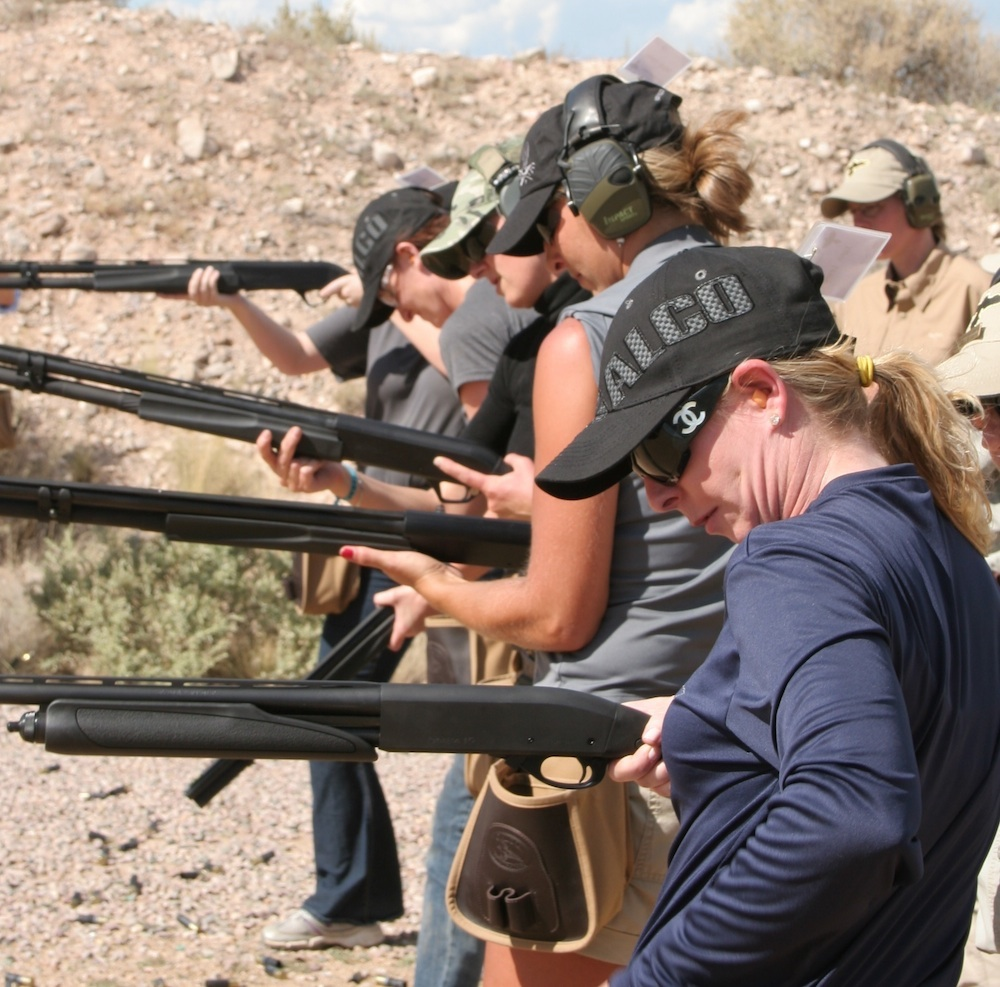 women firearms training gunsite