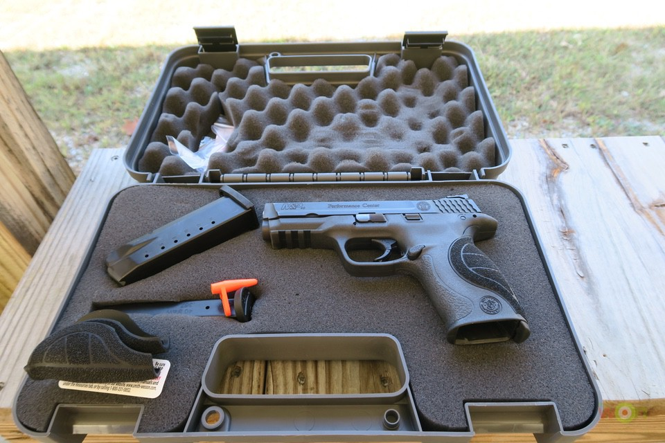 MP40 ported case PC M&P 40 with Ported Barrel