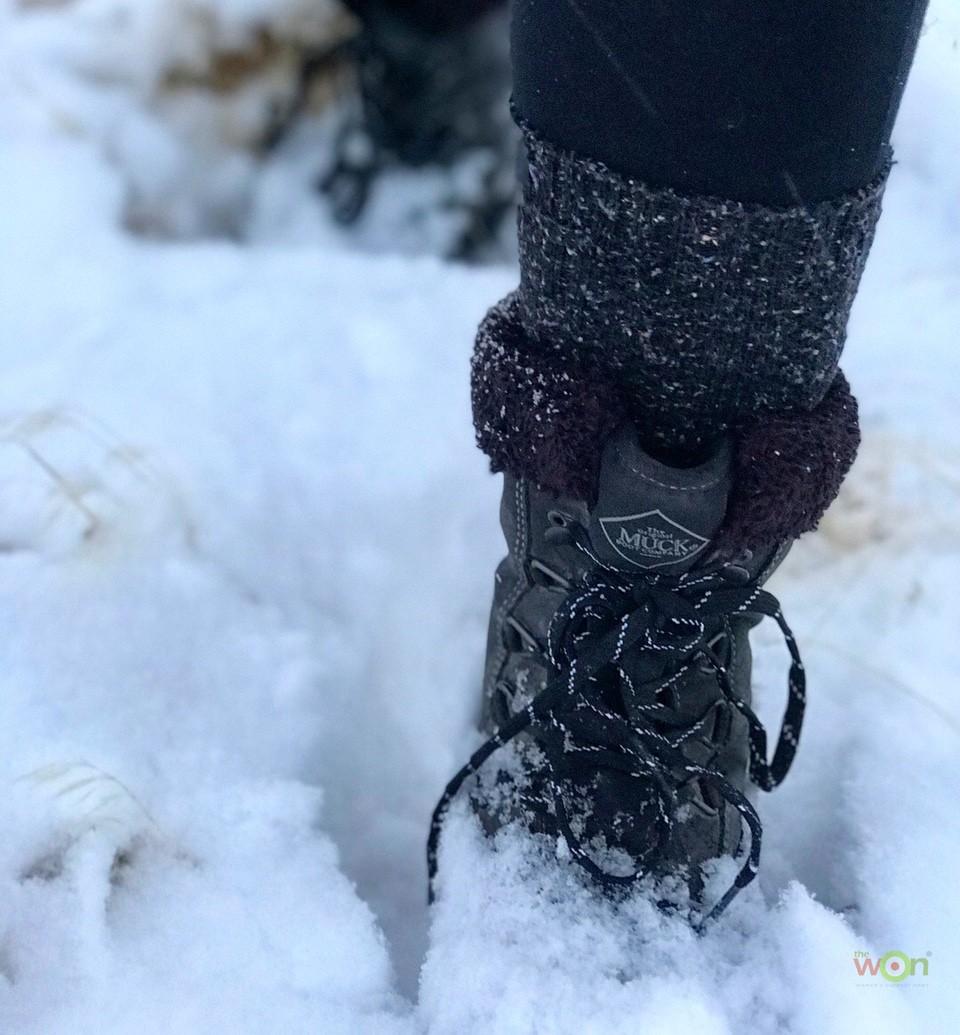 Mucks in the snow Arctic Apres Lace