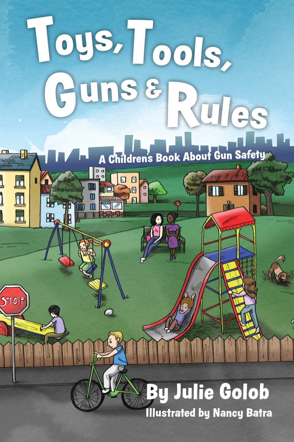 GOLOB BOOK toys tools guns rules firearm safety