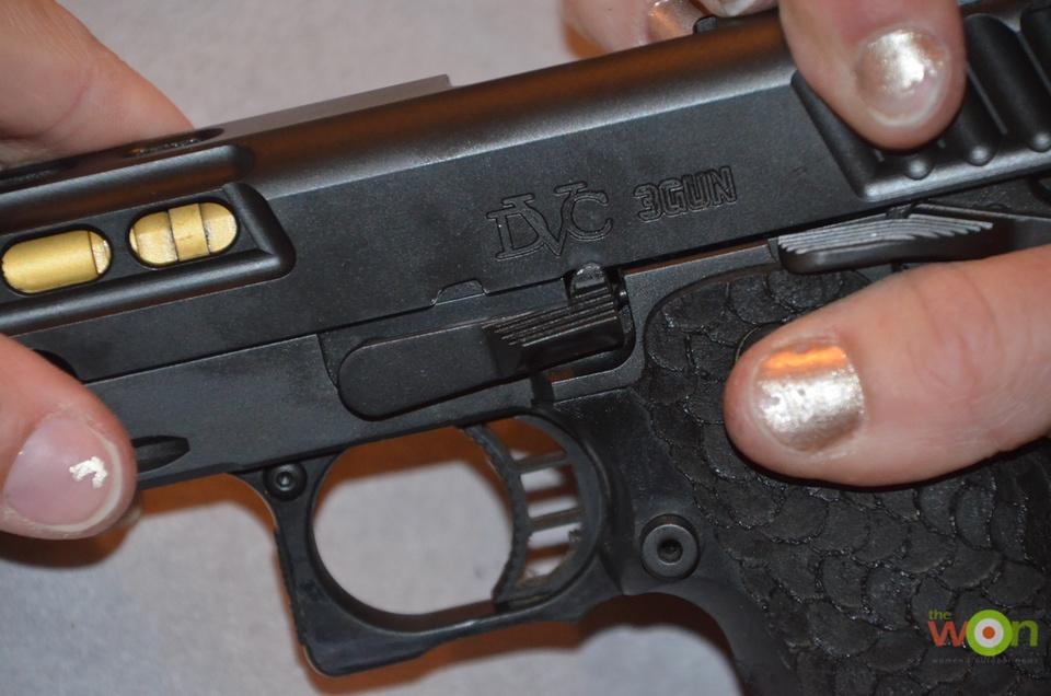 insert slide stop A Clean a Pistol